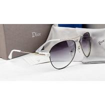 Óculos Dior Branco E Degradê - Importado - Pronta Entrega