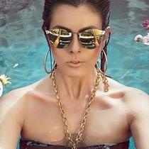 Óculos De Sol Da Moda Iridia Cristais Frete Grátis