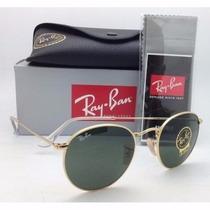Ray Ban 3447 Rayban Round Metal Redondo + Kit 100% Original!