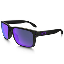 Óculos Oakley Holbrook Matte Black / Violet Iridium