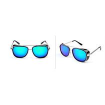 Oculos 2014 Homem De Ferro 3 Mat. Ray Tony Espelhado Top