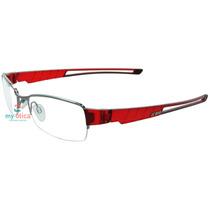 Óculos Iron 3326 Prata E Vermelho Original Com Nfe