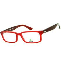 Armação Para Óculos De Grau Lacoste L2685 Retrô Feminina