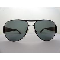 Óculos De Sol Rayban 3358 Preto Lente Fumê