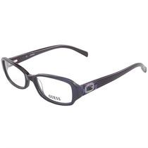 Óculos De Grau Feminino Guess Roxo Detalhe Strass