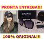 Lindo Óculos De Sol Chanel - 100% Original!!