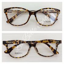 Armação Óculos De Grau Feminina Acetato Vo2740