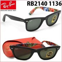 Ray Ban Wayfarer 2140 1136 Surf Frete Grátis Todo Brasil