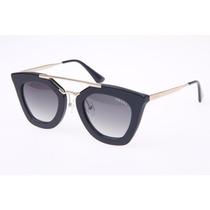 Oculos De Sol Geometric Pr09qs Gatinho Luxo Promoção