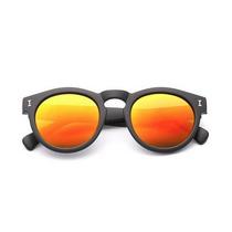 Óculos De Sol Redondo Espelhado Grife Illesteva Leonard