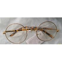 Oculos De Sol Feminino Lentes Redondas Transparentes Sem Uv