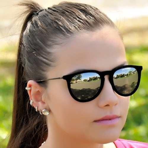 507ff1ed0b761 Oculos Ray Ban Espelhado Azul Mercadolivre