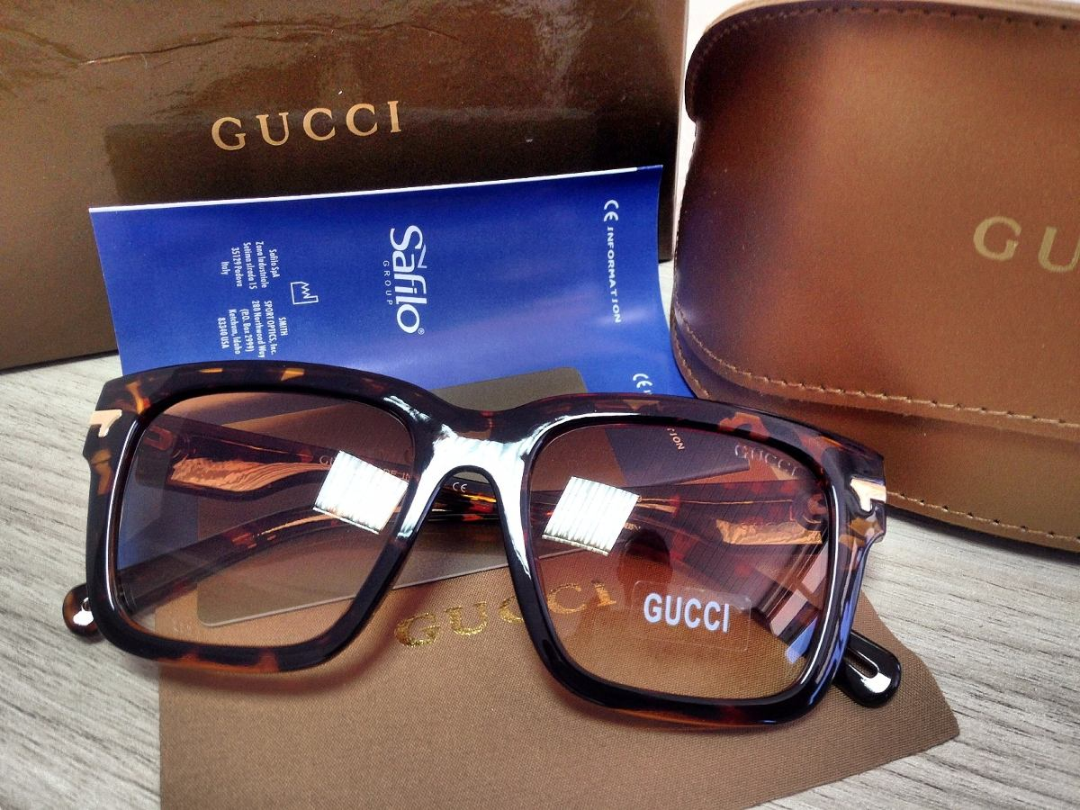 3b9ef5482b7f1 Oculos Gucci Azul