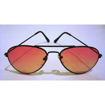 1668 Óculos Escuro Tipo Aviador. Made China. Mede 13,5 Cm De