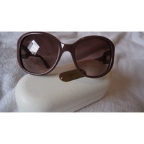 Oculos Chloe Cl 2193 Co2-130 Marrom Com Dourado, Lindo