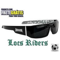 Óculos De Sol Locs Importado Da Califórnia! Frete Grátis!