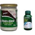 Kit Óleo De Coco Extra Virgem 500ml + Óleo De Peixe 60 Copra