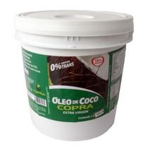 Óleo De Coco Extra Virgem Balde 3,6l Litros - Copra