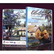 Dvd Pintura Em Tela Espatulada Paisagem Vol.2 -cido Oliveira
