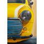 Mini Cooper - Quadro Pintura Óleo Tela Carro Antigo