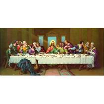 Quadros Telas Arte Sacra Jesus Santa Ceia Por Encomenda