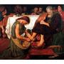 Quadro Jesus Lavando Pes Santa Ceia Natal Pascoa Arte Sacra