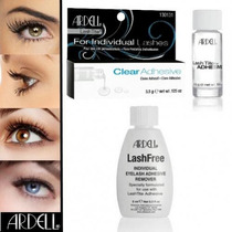 Combo Cola Cílios Fio A Fio Ardell Clear + Removedor Ardell