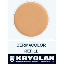 Kryolan Dermacolor Refil Cores Avulsas - Várias Cores