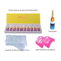 Kit Permanente De Cílios Melhor Qualidade Do Mercado