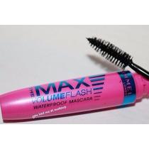 Mascara Rimmel London Max Volume Flash Preto À Prova D