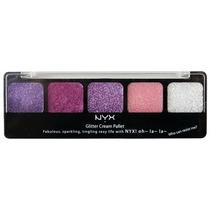 Paleta De Sombra Glitter Nyx Importada Pretty In Pink