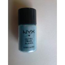Sombra/pigmento Ultra Pearl Mania Nyx Baby Blue Pearl