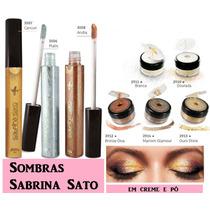 Sombras Sabrina Sato Em Creme E Pó Promoção