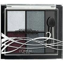 Estojo Sombra Loreal Pincel Makeup Maquiagem Cinza Preto Bra