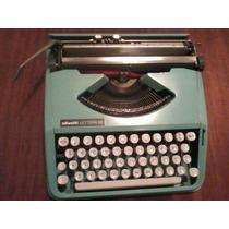 Máquina De Escrever Olivetti Lettera 82 Ok,sem Uso