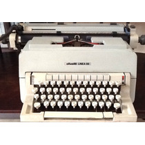 Maquina De Escrever Antiga - Olivetti 98