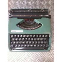 Máquina De Escrever Olivetti Lettera 82 Ok Sem Uso Desde 80