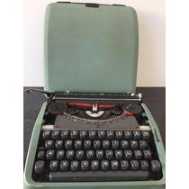 Máquina Datilografia Olivetti Lettera Maleta - Frete Grátis