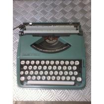 Máquina De Escrever Olivetti Lettera 82 Super Raridade