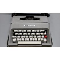Maquina De Escrever Olivetti Lettera 35 Perfeito Estado!