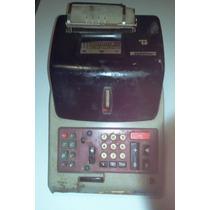 Antiga Maquina De Calcular Elétrica Olivetti Italiana