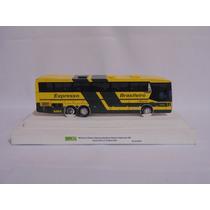 Miniatura Ônibus Expresso Brasileiro Nielson Diplomata 380
