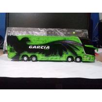 Miniatura De Ônibus Em Mdf Garcia Escala 1:50
