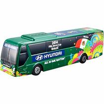 Miniatura Onibus Hyundai Copa Do Mundo 2014 - Escala 1:95