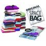 Saco A Vacuo Original Space Bag Kit 2 Grandes + 1 Viagem.