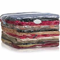 Kit 5 Saco A Vácuo Protetor Roupa Cobertor Cama 80x60