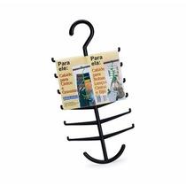 Cabide Organizador Plástico Gravatas Cintos Bolsas Lenços