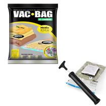 Kit Vac Bag E Bomba Plástica - Ordene