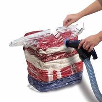 Saco A Vácuo Organizador Roupa Cama Edredom Cobertor 80x110