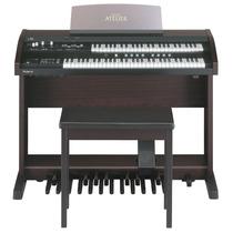 Órgão Eletronico Roland At-100 Atelier - Made In Japan. !!!!